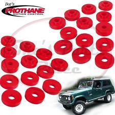Prothane 1-108 Jeep Commando/Jeepster Body Mount Bushing Kit-26pc-Polyurethane
