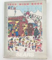 Vintage Sears Wish Book Christmas Catalog 1988 Department Store Advertising TB