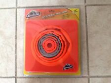 "TRAFFIC CONE COLLAPSIBLE 16"" HIGH COLLAPSES TO 1.5"" LOT OF 4"