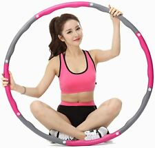 Fitness Hula Hoop Detachable Home Exercise Lose Weight Workout Adult Hoola Yoga