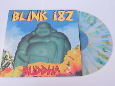 BLINK 182 Buddha LP CLEAR w/BLUE and YELLOW SPLATTER VINYL rare UNPLAYED