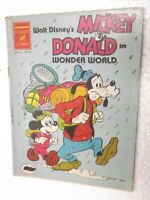 WALT DISNEY WONDER WORLD MICKEY MOUSE VOL 3 NO 23 CHANDAMAMA ENG Comic India