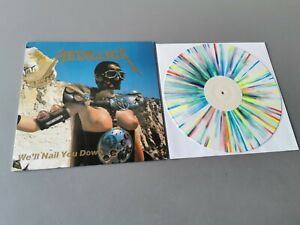 METALLICA lim. multicoloured marbled Vinyl LP We`ll Nail You Down (1987 Germany)