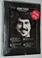 Still Sealed* 1977 JOHNNY RIVERS ~ OUTSIDE HELP 8-Track Tape