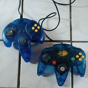 Lot of 2 Aftermarket N64 Controller Gamepad Control Joysticks