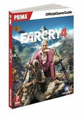 NEW! Far Cry 4: Prima Official Game Guide Xbox 360 One PS4 PS3 PC Cheat Book PB