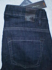 Christopher Blue Mid Stretch Boot Womens Blue Denim Jeans Size 0 X 34 New $165