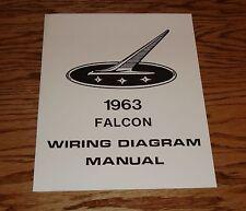 1963 Ford Falcon Wiring Diagram Manual 63
