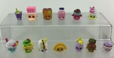 Shopkins 13pc Lot Food Accessory Themed Mini Toy Figures Authentic Moose  S3