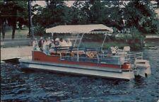 Sharon MA Lake Massapoag Hillcrest Lodge Postcard