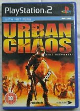 """""""Urban Chaos"""" Sony PlayStation 2 Video Game"""