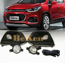 FOR Chevrolet Trax 2017-2020 Front fog lamp w/Bulb Switch Cable Bezel 1/set