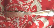 ancienne pince ou pelle a gaufre pates patisserie metal argenté poinconnee