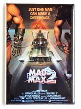 Mad Max 2 Fridge Magnet movie poster