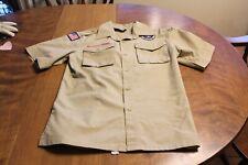 Boy Scouts of America Uniform Shirt, Youth Large, Flag Alamo Area Council Patch