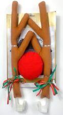 Christmas Elk Car Decoration Reindeer Antlers & Nose Jingle Bell Rudolph Costume