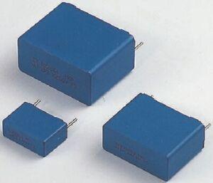 Vishay MKT373 POLYESTER FILM CAPACITORS 15x25x31mm 25Pcs 1nF 250VAC/630VDC, ±10%