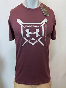 "Under Armour Men's T-Shirt Athletic Fit, Multiple Colors S-XL ""Baseball UA"""
