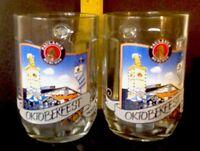 Lot of 2  Paulaner Munchen 0.5l Oktoberfest beer Mugs with Handel