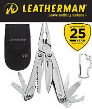 Genuine Leatherman Sidekick Stainless Steel Multi-Tool & Nylon Sheath 25 Yr Wty