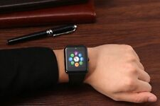 SMART WATCH W/ TOUCH SCREEN CAMERA MIC TEXT CALL PEDOMETER FOR SAMSUNG MOTOROLA