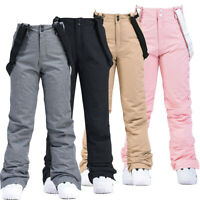 Women's Winter Ski Pants Waterproof Snow Pants Snowboard Trousers Sports Outdoor