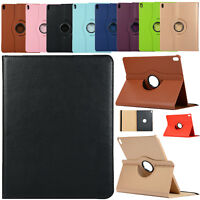 360° Rotating Leather Smart Case Cover For iPad Pro 12.9/11/9.7/iPad Air / Mini