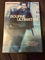 The Bourne Ultimatum (DVD, 2007, Full Frame)