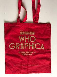 Doctor Who Whographica MCM Comic Con 2016 Exclusive Tote Bag RARE NEW