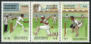 Bangladesh 313 Bande / 3, MNH Asie Tasse Criquet, 1988