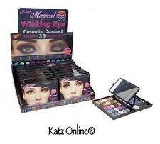 MAGICAL WINKING EYE Cosmetic 39 Colour Eye Shadow COMPACT MAKEUP SET + MIRROR