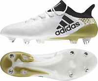 adidas X 16.1 Soft Ground Mens Football Boots - White