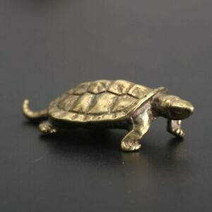 Tortoise Ornament Figurine Statue Display Traditional Gift Antique Home