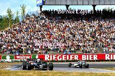 Elio De Angelis JPS Team Lotus 95T German Grand Prix 1984 Photograph
