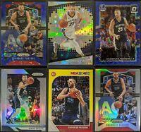 Lot of (6) Chandler Parsons, Including Prizm blue /175, Prizm silver & parallels