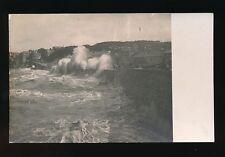 Somerset CLEVEDON Rough Sea early pre1919 PPC