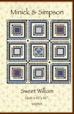 SWEET WILLIAM Quilt Pattern MS1501 by Minick & Simpson