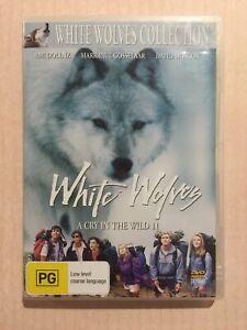 WHITE WOLVES A Cry In The Wild 2 (DVD R4 1993) VGC Dolenz Gosselaar Adventure