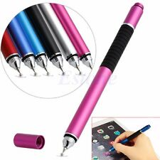2in1 Capacitive Touch Screen Stylus Ballpoint Pen For iPhone Samsung Tablet iPad
