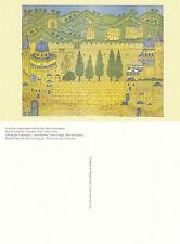 LITHOGRAPH - TEMPLE MOUNT & THE HOLY PLACES OF JERUSALEM UNUSED COLOUR POSTCARD