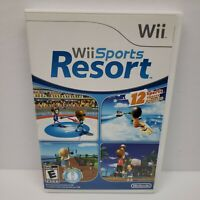 Wii Sports Resort (Wii, 2009) Complete Tested Canadian Version Like New