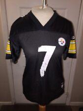 Reebok Ben Roethlisberger Pittsburg Steelers Jersey NFL #7 Youth M 10-12