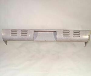 Rear Pan Chevy 1967 - 1987 Chevrolet 4 Row Louvres with Box Long Bed Stepside