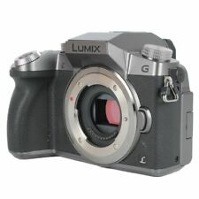 Panasonic LUMIX G7 16.0MP Digital Camera - Silver (Body Only)