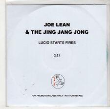 (GS105) Joe Lean & The Jing Jang Jong, Lucio Starts Fires - DJ CD