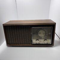 RadioZENITH S-65234 Vintage Wooden Radio 1965 Tube R Wooden Cabinet model M730