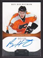 2011-12 Dominion Hockey #129 Ben Holmstrom RC Auto /199 Philadelphia Flyers