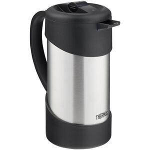 Thermos 34 oz. Insulated Stainless Steel Gourmet Coffee Press - Silver/Black