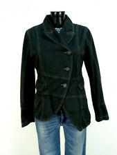 Rundholz chaqueta talla S/negro & como nuevo-lujo pur-algodón (o 4214)