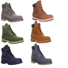 Timberland 6 Inch A17Qf Mens Icon Boot Grey Size Uk 6 - 12